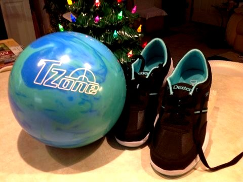 Customer Image (Christmas gift-TZone Caribbean blue ball)